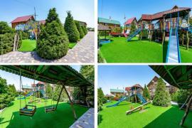 Идеальный отдых в Кирилловке. База отдыха Форт-Азов